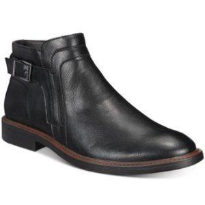 Alfani Men's Rogan Black Faux Leather Chelsea Boot